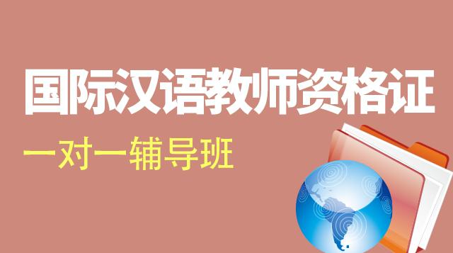 国际汉语教师资格证考试一对一辅导班