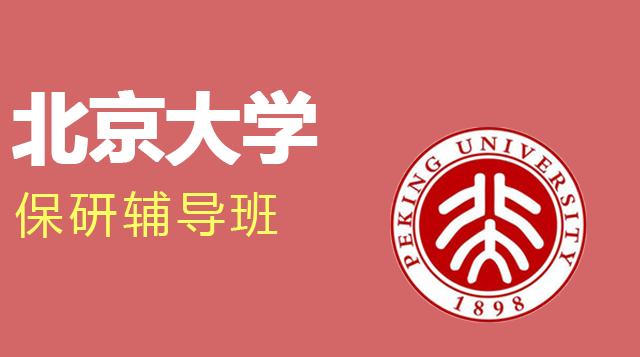 北京大学保研辅导班